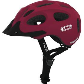 ABUS Youn-I Ace - Casque de vélo - rouge